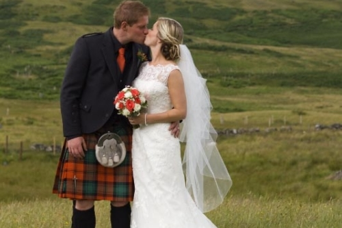Highland Wedding at The Bunkhouse